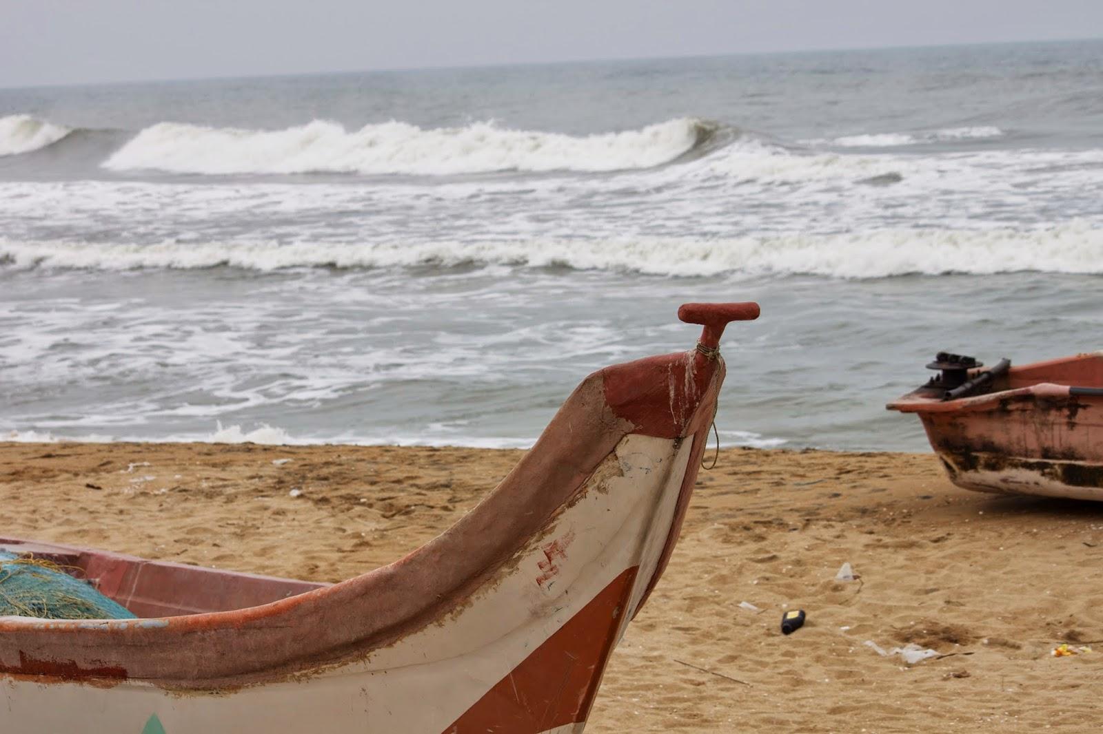 Elliot's beach, Chennai